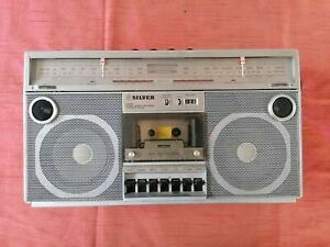 SILVER ST 757  BOOMBOX made in Japan