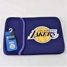 """Los Angeles Lakers NBA Purple Universal 10"""" Netbook Tablet Ipad Sleeve"""