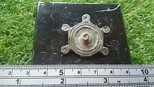 Beautiful Roman bronze ornate once blue enameled brooch find From York area 70s