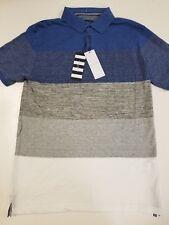 740459313b Denim   Flower Ricky Singh Slim-Fit Polo Short Sleeve Fashion Shirt M
