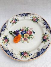 Vintage Ridgway Dinner Plate Floral Decor