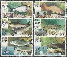 Timbres Poissons 4560/5 o lot 19928