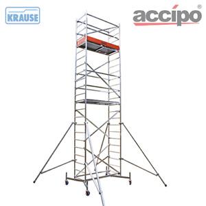 KRAUSE ClimTec Fahrgerüst inkl. 125er Rollen AH 6,00 m