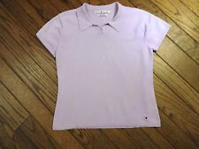Tommy Hilfiger Short Sleeved Lavender Sweater           Size Medium
