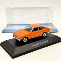 IXO 1/43 Fiat 1600 Sport 1970 Orange Diecast Models Limited Edition Used