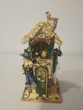 Blue Sky Clayworks Autumn House by Heather Goldminc Retired No Box