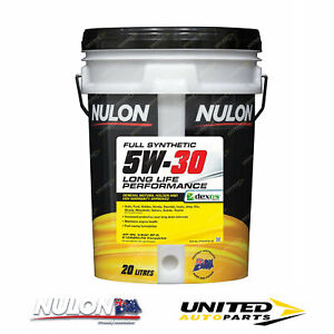 NULON Full Synthetic 5W-30 Long Life Engine Oil 20L for CHEVROLET Camaro