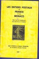 CATALOGUE SPÉCIALISE  des entiers postaux France et Monaco STORCH / FRANCON
