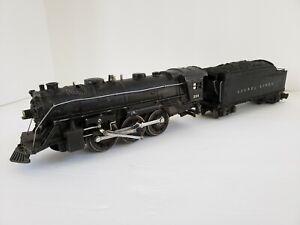 Lionel Lines No. 224 2-6-2 Steam Engine Locomotive 1945 w/ No. 2224W Tender 1940