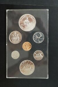 Canada 1975 double $1 silver copper nickel proof set (d034)