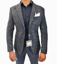 Giacca Uomo Elegante Casual Blazer Estiva Made In Italy Sartoriale Slim Fit