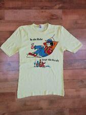 Vintage Rare! Fein Ripp unisex t-shirt made in Germany Deutschland sz M ~Xl