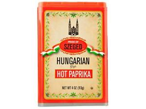 1 PACK Pride of Szeged Hungarian HOT Paprika Spice Kitchen Seasoning SHIPS FREE