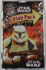 Star Wars Play Pack Clone Storm Troopers Grab and Go Crayons Stickers Color Book