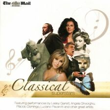 CLASSICAL SUPERSTARS - PROMO CD: LESLEY GARRETT, ANGELA GHEORGHIU, PAVAROTTI ETC