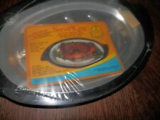 Nordic Ware Servo King Sizzler Server Steak Fajita Bakelite Pan New in Package