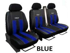 FORD TRANSIT CUSTOM VAN 2013 PRESENT ECO LEATHER ALCANTRA SEAT COVERS TAILORED