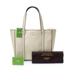 NWT $398! Kate Spade Newbury Lane Tote Shoulder Bag Satchel Handbag Purse Gold
