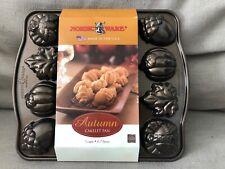 New ListingNordic Ware Bundt Bakeware Autumn Cakelet Pan