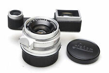 Leica Summicron 35 mm f2 Chrome + near Correction Attachment F. leica m3