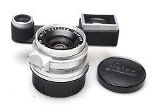 Leica summicron 35mm f2 Chrome + near correction attachment F. Leica m3