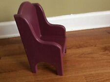 Solid wood Royal Decor Arm chair teddy bear Doll Plush toy mini furniture chair