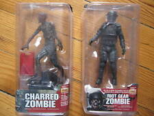 THE WALKING DEAD (TV Series) - Riot Gear Zombie et Charred Zombie