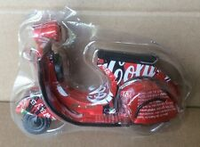 COCA-COLA Can Vespa Motorcycle Coke Aluminum Black Red Vietnamese