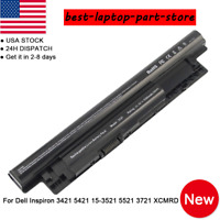 For Dell Inspiron 17-3721 17R-5721 14R-N5421 15-3521 FW1MN MR90Y 6 Cell Battery