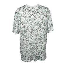 Hermes Men's T-Shirt Etriers Stirrup Print White Cotton L New w/Box