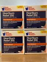 (pack of 4) Acid Reducer Heartburn Cimetidine Tablets 200 mg 30 ct (total 120ct)