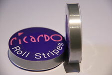 X5 Job Lot Silver 12mm Single Coachline Tape Pin Stripe Self Adhesive Pinstripe