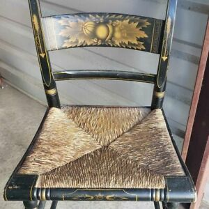 Hitchcock chair antique