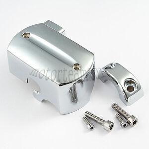 Chrome Brake Master Cylinder Cover For Yamaha V-Star XVS 1100 199-2007 00 01 02