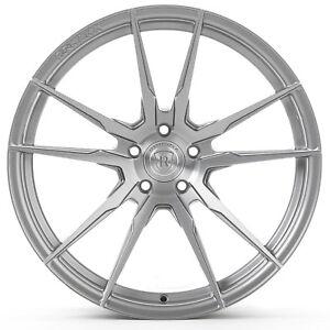 "20"" Rohana RF2 Brushed Titanium Concave Wheels for Hyundai"