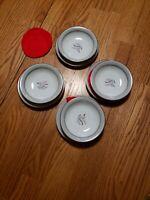 Noritake China - Lilybell 5556 - 4 small plates and 4 small bowls