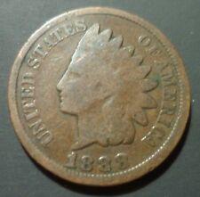 1888/7 888/888 Indian Head Cent Snow 2 S-2 RARE 3 star Cherrypicker FS-301 w79