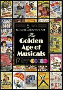 The Golden Age of Musicals (17 Classic Films) [New DVD]