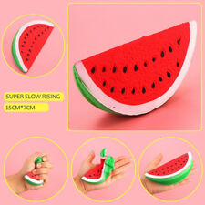 Slow Rising Squishy Jumbo Watermelon Fruit Scented Bread Squeeze Toy Decor Gift