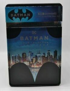 Batman 4K 4 Movie SteelBook Collection (Blu-Ray, 2019, 8-Disc Set, Limited...