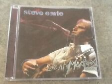 Live at Montreux 2005 by Steve Earle CD 14 Tracks 2006, Eagle Records