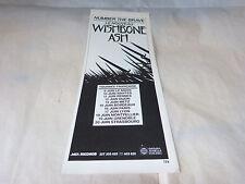 WISHBONE ASH - Petite Publicité de magazine / Advert NUMBER THE BRAVE !!!!