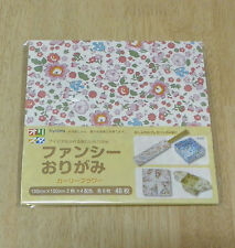 Japanese Origami folding paper / Origami of girly flower patterns