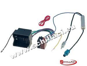 Cavo adattatore ISO + Fakra amplificato autoradio  per Citroen C2 / C3 / C4 / C5