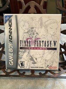 Final Fantasy V Advance CIB (Nintendo Game Boy Advance, 2006)