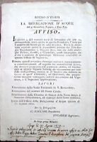 1812 IDROLOGIA CANALI LUGO DI ROMAGNA SAN BERNARDINO