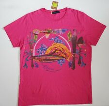 NWT Authentic ETRO Pink Multi 100% Cotton Printed Short-Sleeve T-Shirt 2XL/3XL