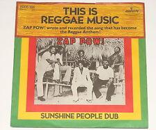 "Zap Pow - 7"" Single-This is le reggae music-MERCURY 6005 165"
