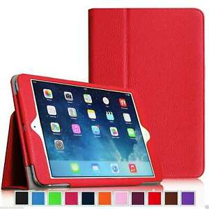 Leather Flip book Stand Case Cover For  Apple ipad Air2 iPad Air 9.7 2017-2018