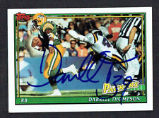 Darrell Thompson #446 signed autograph auto 1991 Topps Football Trading Card
